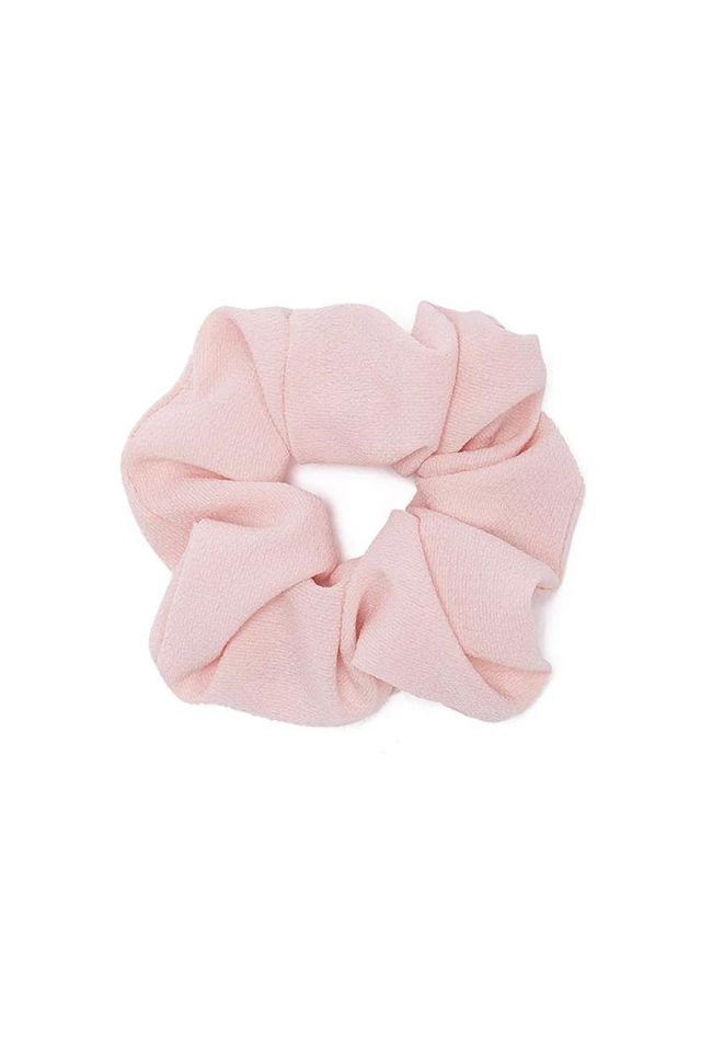 Ruched Crepe Scrunchie
