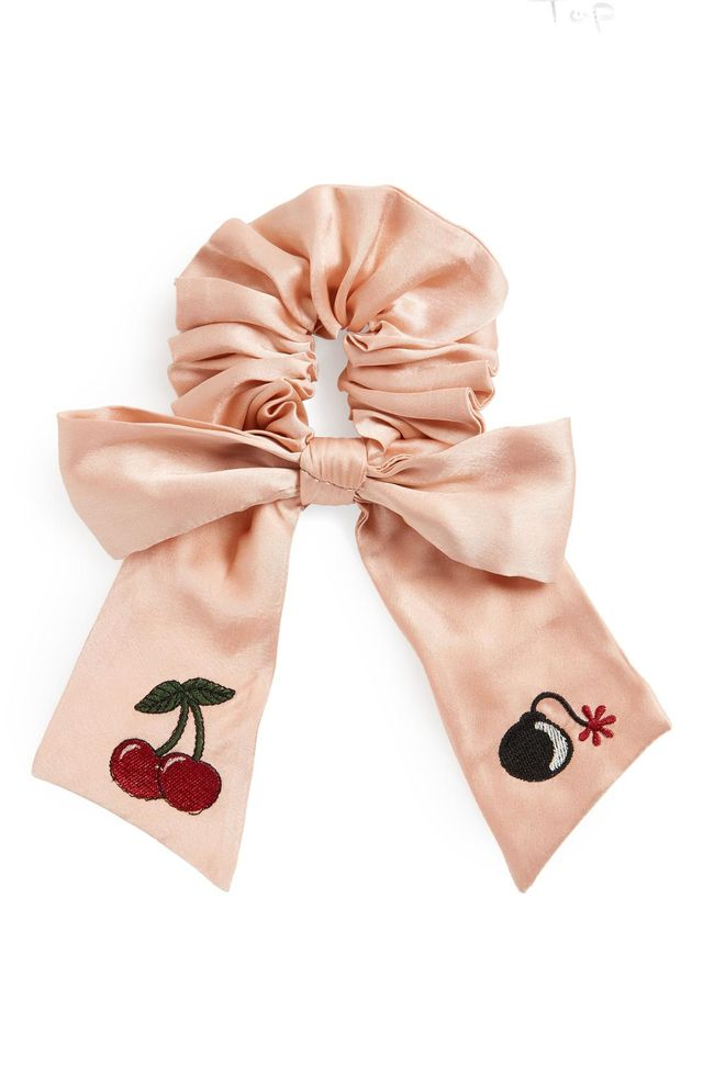 New Friends Colony Cherry Bomb Bow Scrunchie