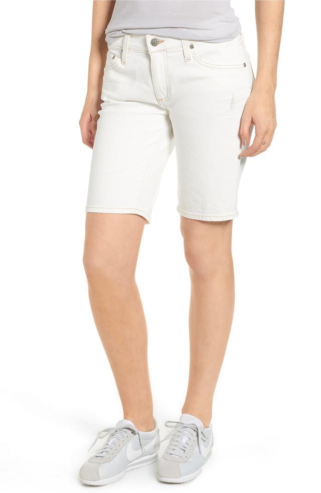 Women's Ag Nikki Denim Bermuda Shorts