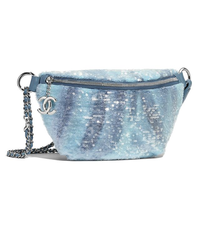 Chanel Waist Bag in Sequins & Silver-Tone Metal