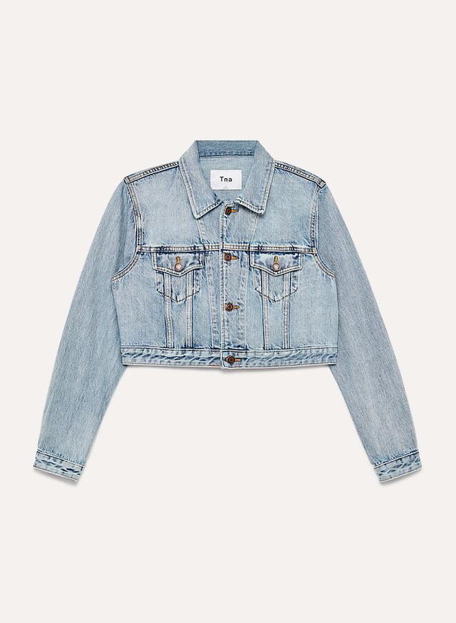 Cropped Jacket Denim Capsule Wardrobe