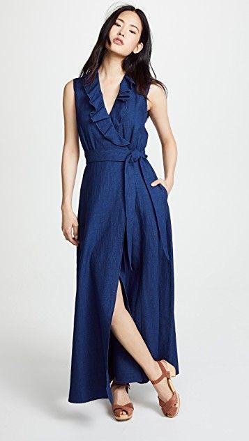 Maxi Dress Denim Capsule Wardrobe