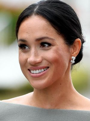 Meghan Markle Has Been Doing Her Own Makeup During Her Ireland Tour