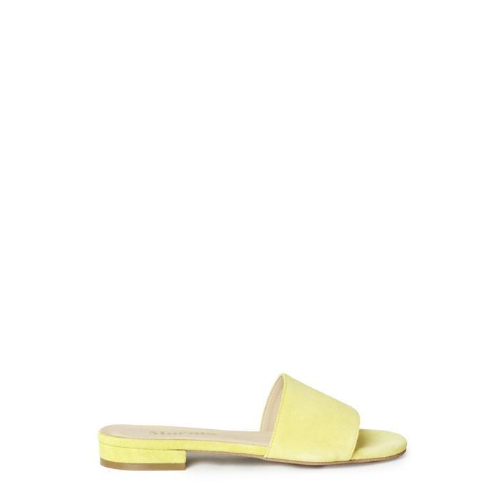Best Yellow Suede Sandals