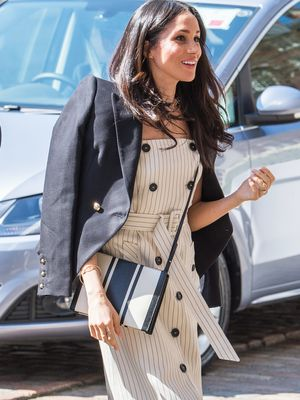 These 11 Outfits Confirm Meghan Markle Already Has the Best Handbag Collection