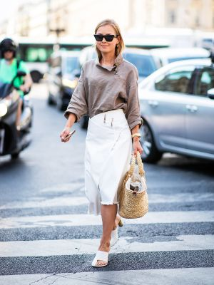 This Is the Biggest Skirt Trend Right Now, and It's Super Cheap