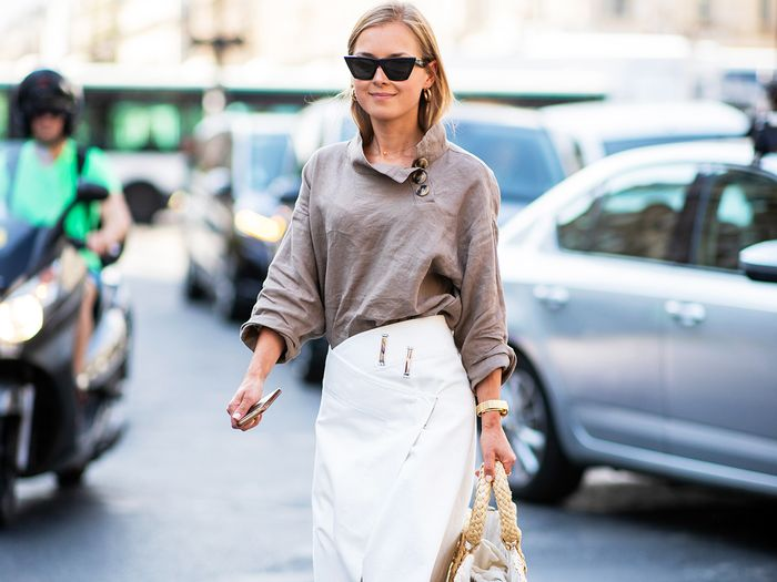 how to style a wrap skirt