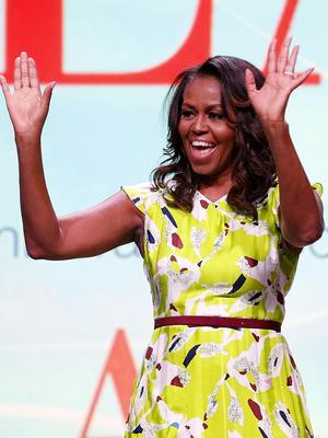 Michelle Obama: Shoe Genius, Beyoncé Stan