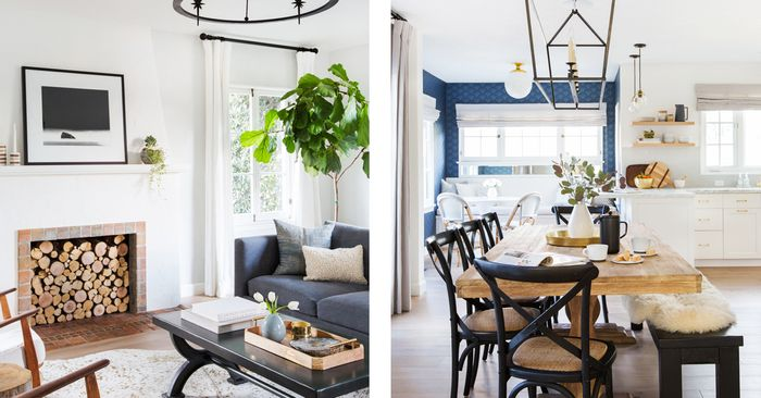Inside a Cool L.A. Home That Will Give You Goosebumps | MyDomaine on small home tours, colonial home tours, interior floor plans, kitchen home tours, autumn home tours, interior design, rustic home tours, interior decorating, dream home virtual tours, top home tours, interior color, interior office, primitive home tours, interior flowers, interior houses,