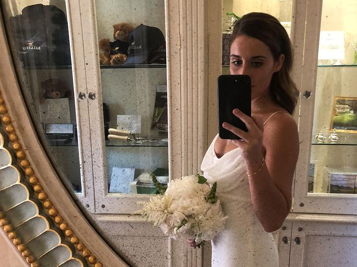 michelle scanga bridesmaid second dress trend