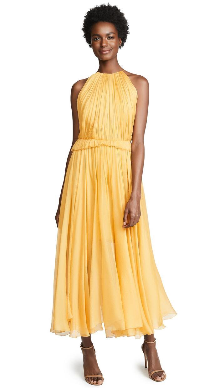 Nice Yellow Summer Dresses For Weddings Illustration