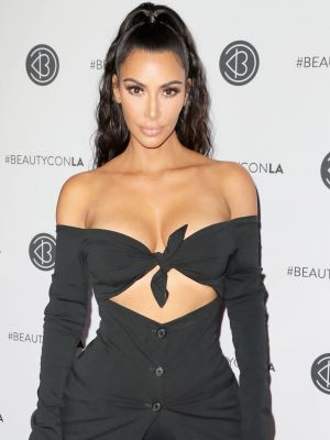 Kim Kardashian West Secretly Wore Bike Shorts on the Red Carpet