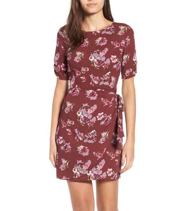 Women's Astr The Label Wrap Front Dress