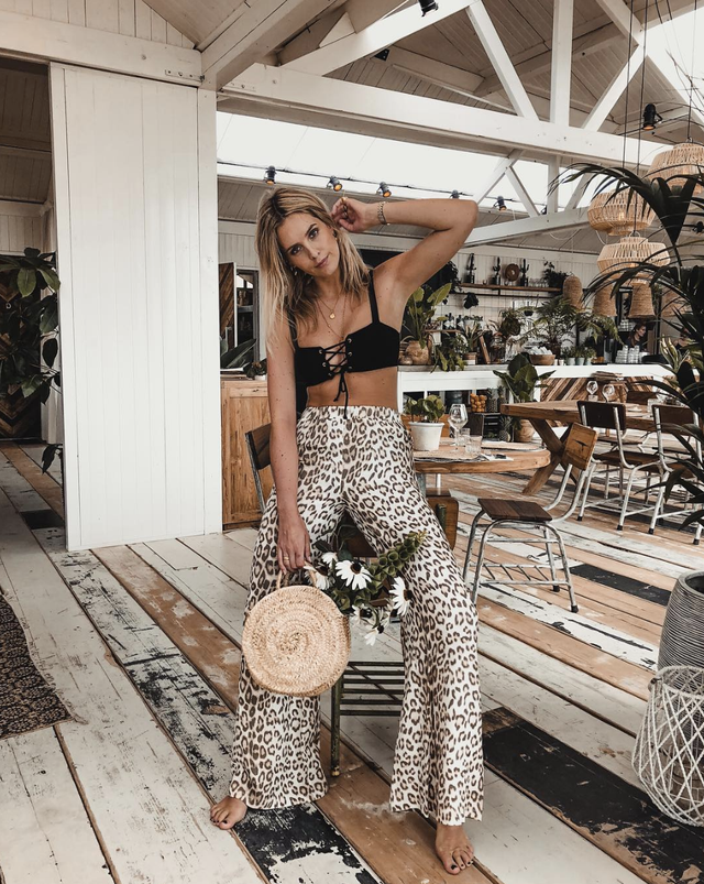 How to wear animal prints during the summer