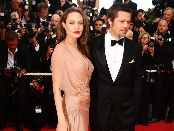 6 Outfits That Prove Angelina Jolie Always Serves Up Old Hollywood Glamour