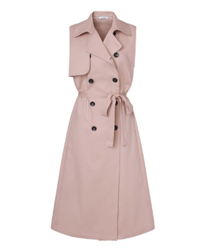 meghan markle sleeveless trench dress 263192 1531829098173 product.800x0uc - Meghan Markle Simply Had One other Middleton Second In Kate's Go-to Outfit System