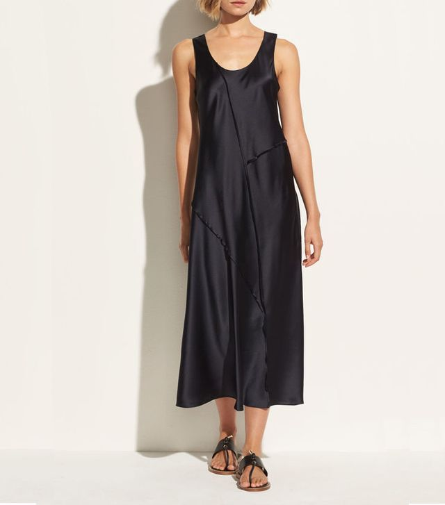 easy slip dresses vince
