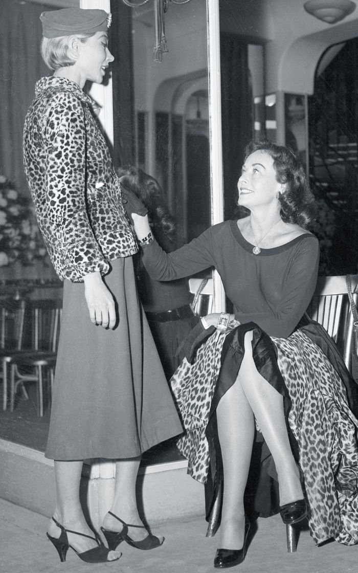 Best Coco Chanel designs: leopard print coat