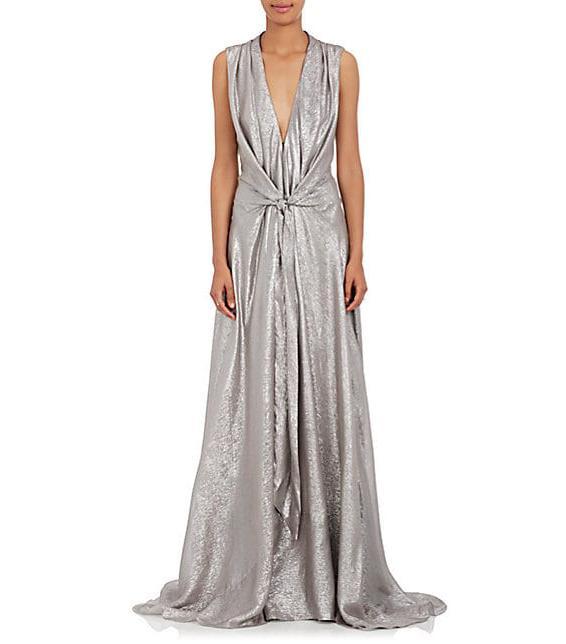 Silver Wedding Gowns: 20 Beautiful Silver Wedding Dresses