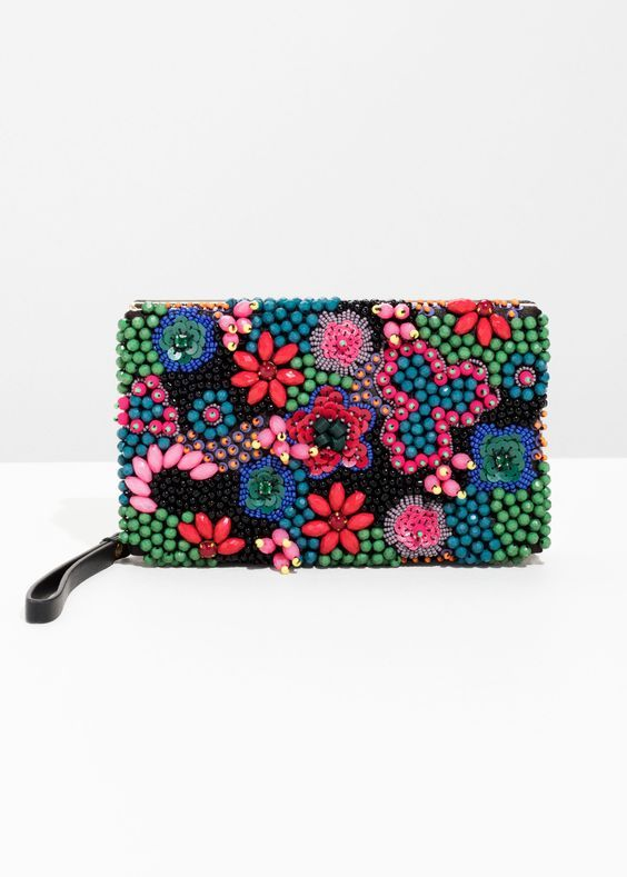 Colorful Embellished Bags