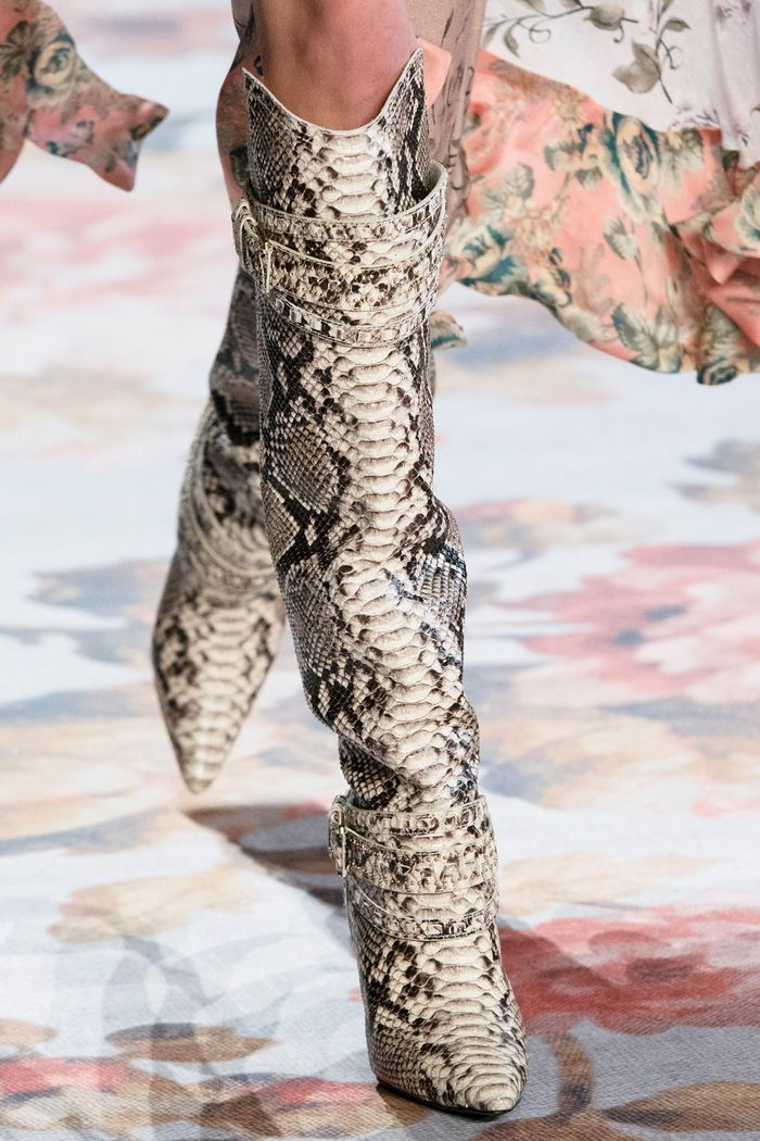 The Snakeskin Boot Trend Will Be