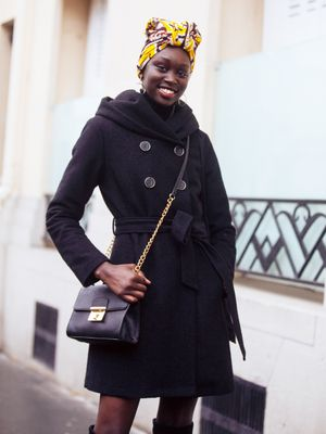 This Model Blends Australian and African Style So Effortlessly