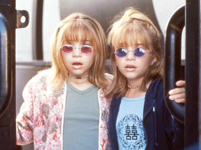 Olsen twins Billboard Dad movie