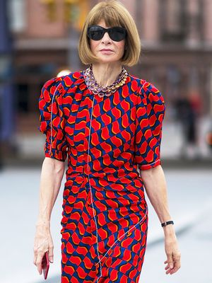Anna Wintour's Power Triangle: The 3-Step Outfit She Has Worn All Summer