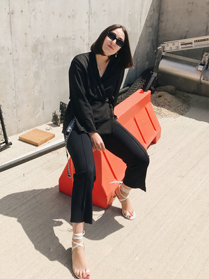 The $185 Pair of Pants a Fashion Editor Always Travels In
