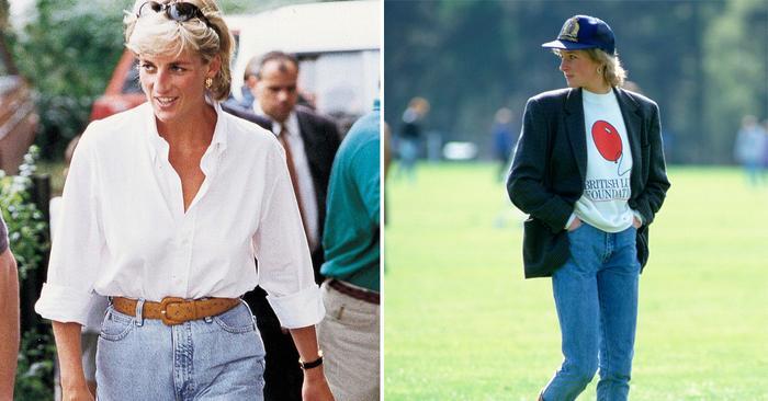 6 Princess Diana Denim Outfit Formulas That Look Cooler Than Ever