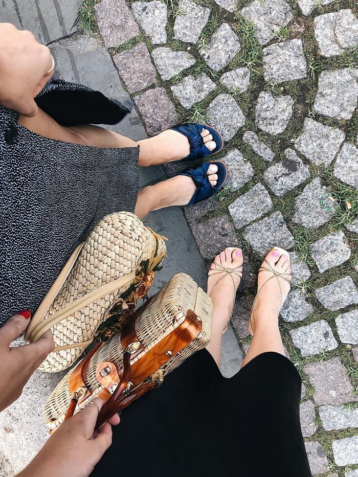how to break in cheap shoes - the devils wear zara sandals