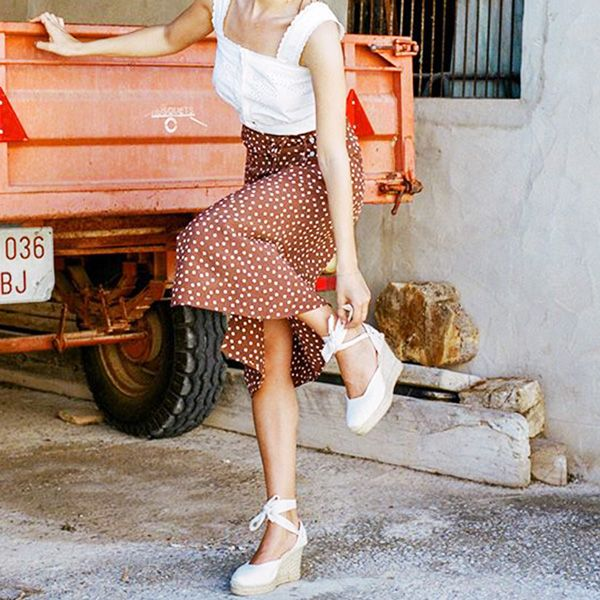 These Are the Best Shoes to Wear With a Midi Skirt