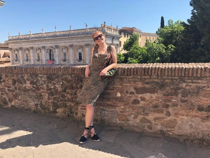 Italy outfits Ciao Lucia dress