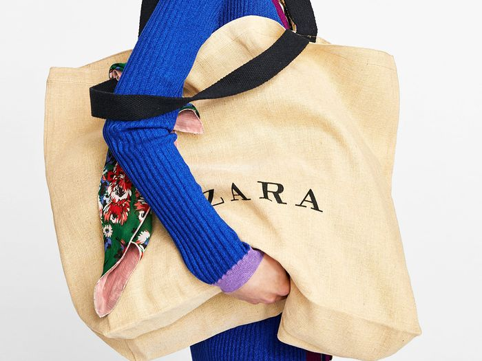 Zara shopping bag