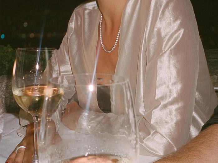 Tennis necklace jewelry trend