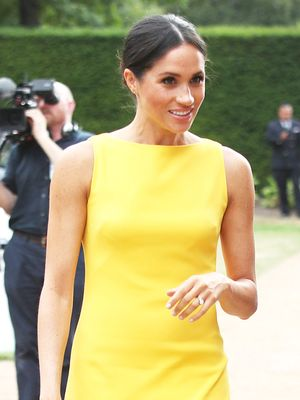 Everyone Is Talking About Meghan's $71 Bag—But It's Her Dress I'm Really Into
