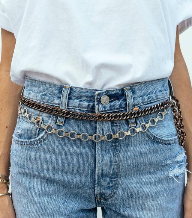 Coco Sands Laurel Double Waist Chain