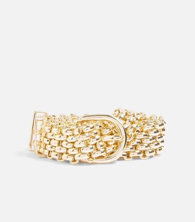 Gold Chain Link Belt