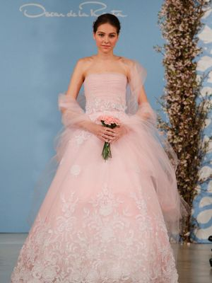 19 Pink Wedding Dresses for the Unconventional Bride