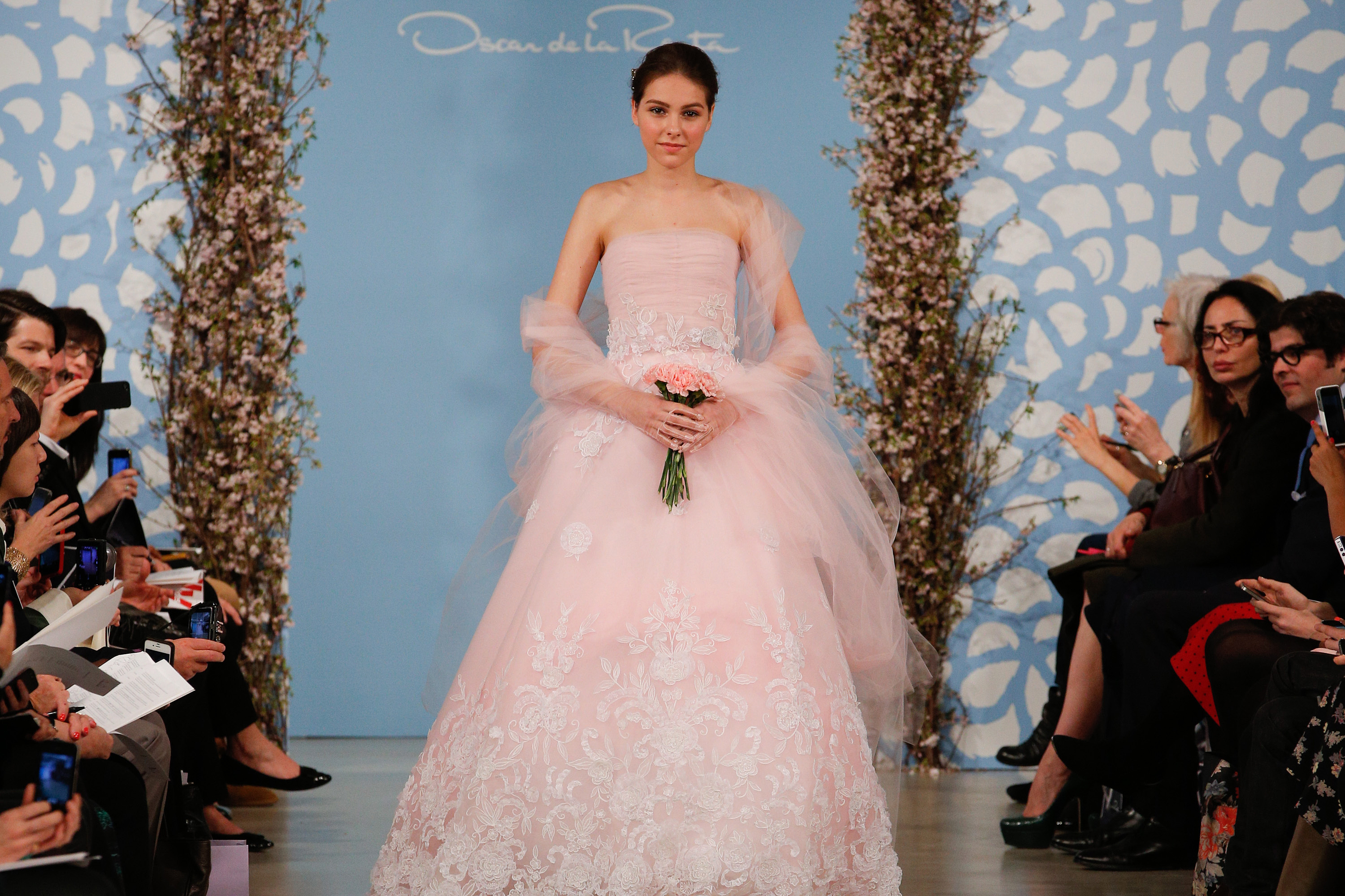 19 Pink Wedding Dresses for the Unconventional Bride | Who What Wear