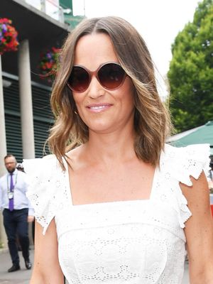 Pippa Middleton Showed Off Her Baby Bump in This $84 Swimsuit