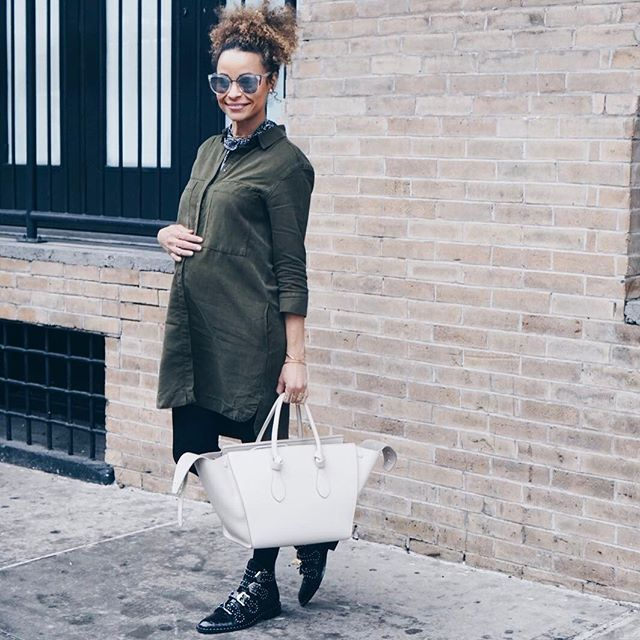 Dress Pregnancy Style Tips for Fall
