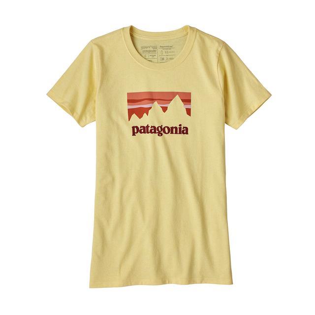 Patagonia Shop Sticker Cotton/Poly Responsibili-Tee