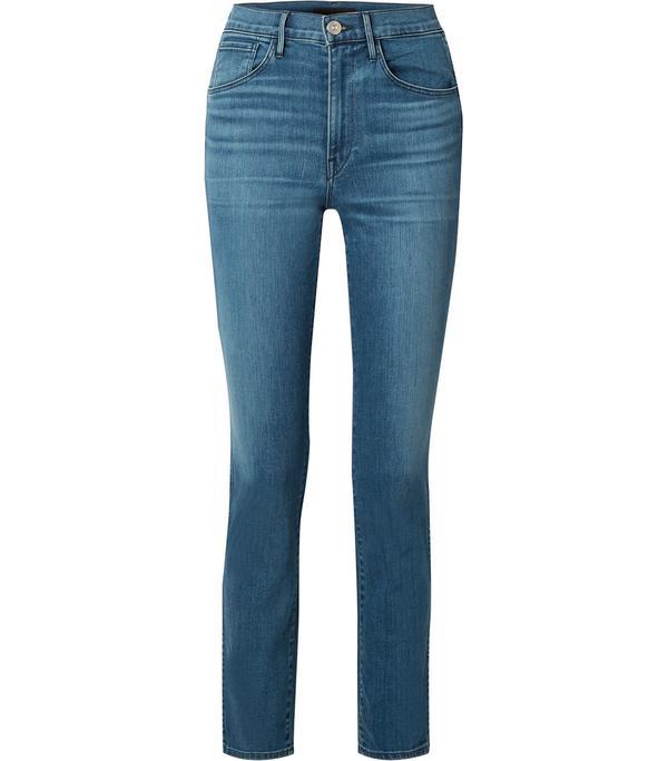 W3 High-rise Straight-leg Jeans