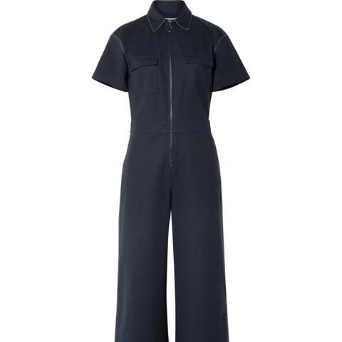 Morrison Cotton-Blend Jumpsuit