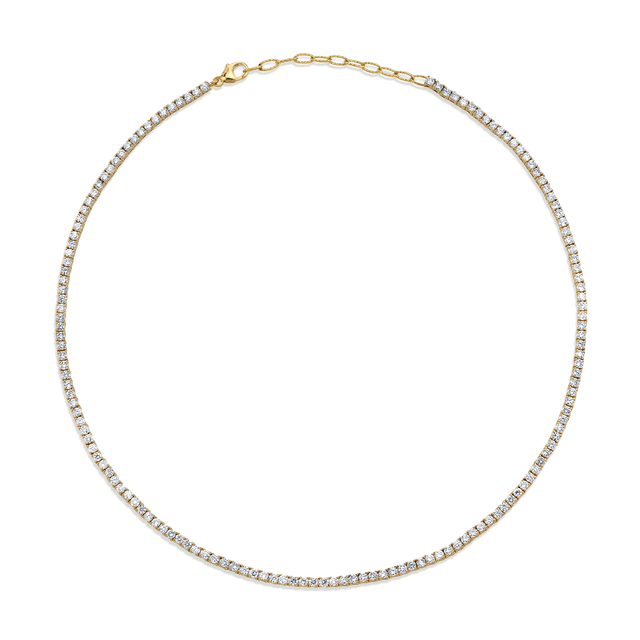 The Last Line Perfect Diamond Collar Tennis Necklace