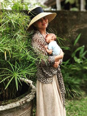 Move Over, Blue Ivy—Luna and Miles Legend Are Living Their Best Lives in Bali
