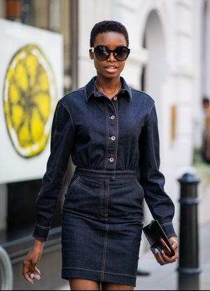 20 Reasons We're Obsessed With Denim Dresses