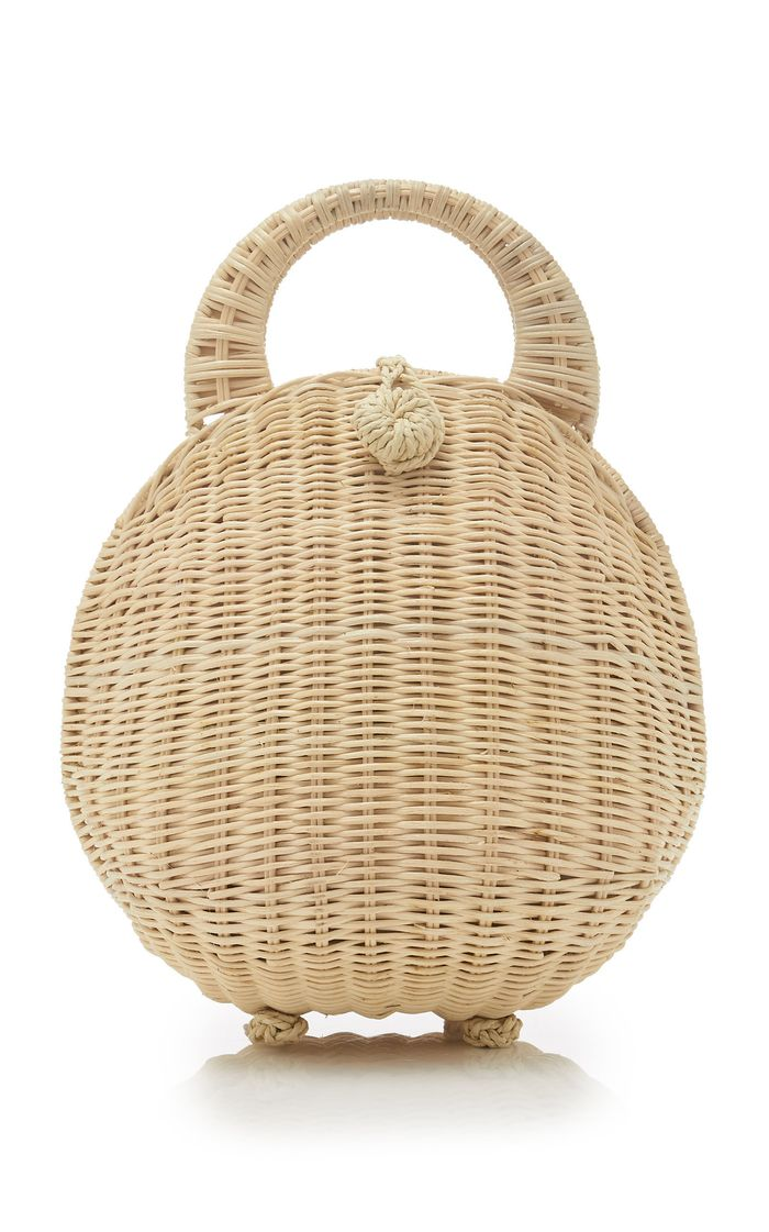 Millie Wicker Dome Bag