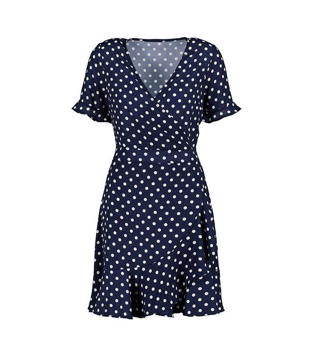 Next Polka Dot Wrap Dress